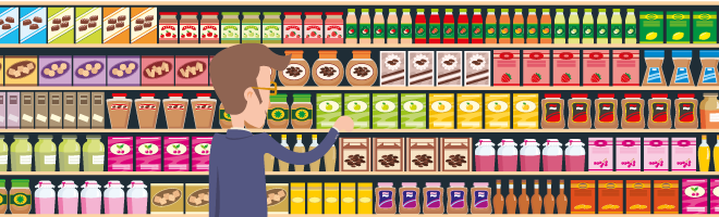 Crouching down, hidden bargain - how looking low can save on your supermarket shop