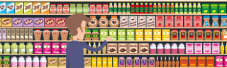 Crouching down, hidden bargain – how looking low can save on your supermarket shop