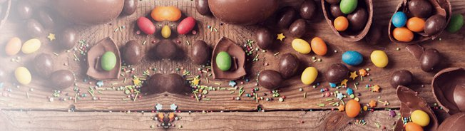 Cheap post-Easter chocs, eg, 17p Creme Eggs, 50p Cadbury eggs, £2 Lindt bunny - can you find 'em?