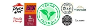 Vegan-friendly restaurant deals for Veganuary – incl 40% off at Harvester, Pizza Hut & more