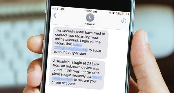 Fraudsters target NatWest customers using fake texts