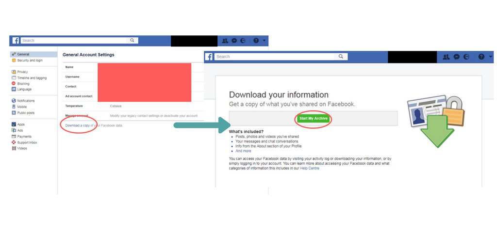 Facebook step-by-step