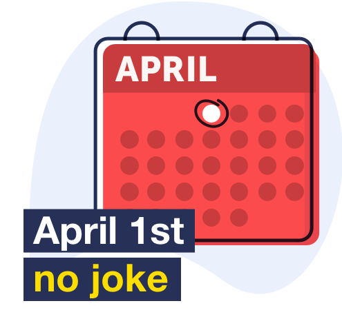 April first no joke