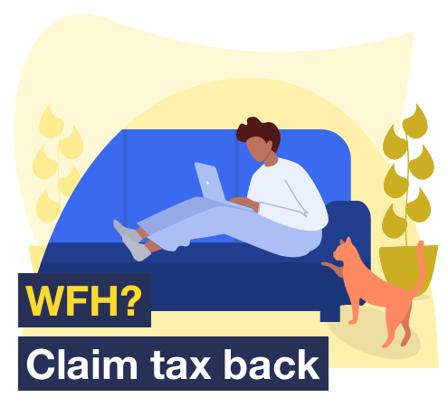 Working from home? Claim tax back