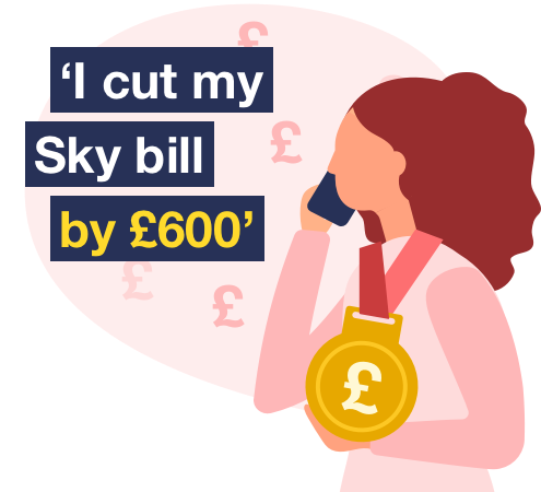 MSE's guide to haggling with service companies including Sky