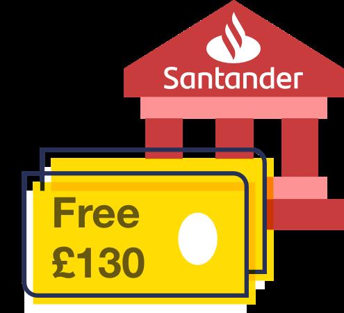 MSE's full info on Santander's £130 switch offer
