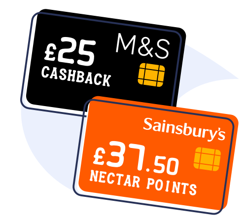 £25 cashback with M&S Bank and £37.50-worth of Nectar points with Sainsbury's Bank are among the top picks in MoneySavingExpert's Best 0% Credit Cards guide