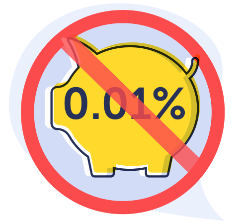 Ditch dire savings