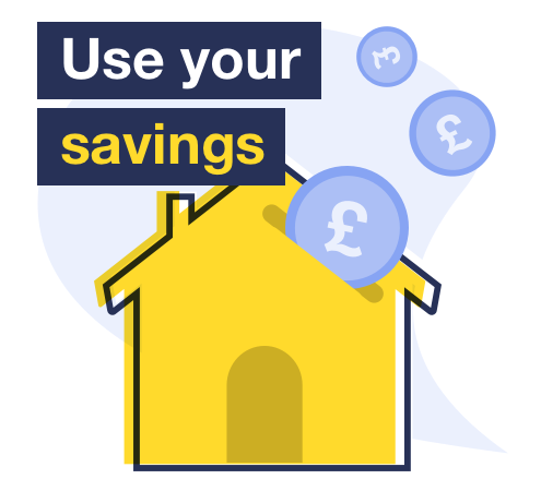 MSE info on how putting savings into a mortgage can bag you a cheaper rate