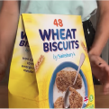 Cereal box origami video