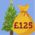 FREE £125 in time for Christmas