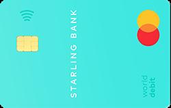 starling bank card image